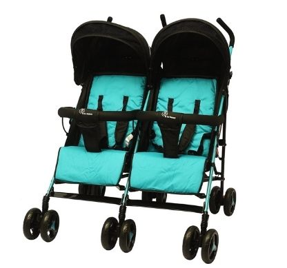 R for Rabbit Ginny and Johnny – Baby Twin Stroller