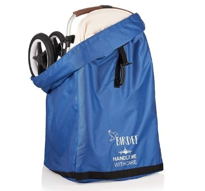 Birdee Stroller Travel Bag for Airplane Gate Check and Carrier for Travel